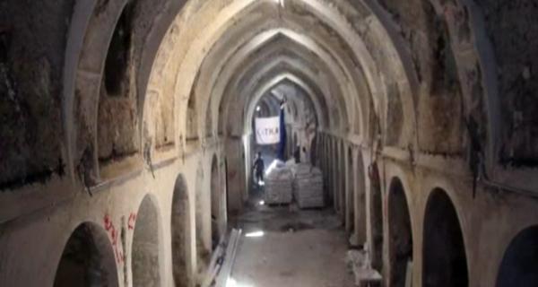 Kerkük'te Yanan Kayseri Çarşısı'nın Restorasyonu Hızla Sürüyor