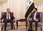 Başbakan Kazımi Bağdat'ta Parlamento Halbusi İle Görüştü