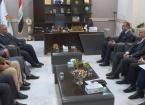 Kerkük'te Türkmen Örgütlerden  Petrol Ürünleri Şirketine Ziyaret