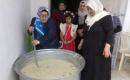 Deniz Türkmen Kadınlar Örgütü  Kerkük'te Aşure Pişirdi ve Dağıttı
