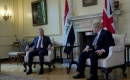 Başbakan Kazımi Londra'da İngiltere Başbakanı Boris Johnson İle Bir Araya Geldi