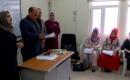 Türkmence Bölümünden Bir Heyet Eğitime Hazırlık Bölümünü Ziyaret Etti