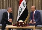 Cumhurbaşkanı Salih, Filistin Başbakanı ile Görüştü