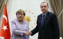 Türkiye Cumhurbaşkanı Erdoğan ile Almanya Başbakanı Merkel Telefonda Görüştü