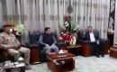 Ulusal Güvenlik Müsteşarı Kasım El Araci Beraberindeki Üst Düzey Heyetle Birlikte Diyale'yi Ziyaret Etti