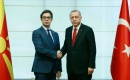 Türkiye Cumhurbaşkanı Erdoğan, Makedonya Cumhurbaşkanı ile görüştü