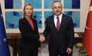 Çavuşoğlu, Mogherini'yi yeni görevi dolayısıyla tebrik etti