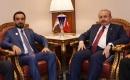 Meclis Başkanı el-Halbusi, TBMM Başkanı Şentop ile görüştü