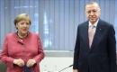 Türkiye Cumhurbaşkanı Erdoğan, Almanya Başbakanı Merkel ile Görüştü
