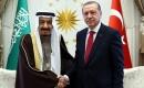 Türkiye Cumhurbaşkanı Erdoğan ve Kral Selman Görüştü