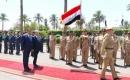Cumhurbaşkanı Salih Irak Savunma Bakanlığı'nı Ziyaret Etti