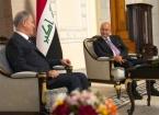 Cumhurbaşkanı Barham Salih Türkiye Millî Savunma Bakanı Hulusi Akar ile Beraberindeki Heyeti Kabul Etti