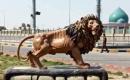 Necef'te 65 bin dolara mal olan aslan heykeli tepkiye yol açtı