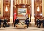 IKBY Başkanı Neçirvan Barzani ve Bakan Akar, Görüşmelerinde 'Sincar Anlaşması'na Vurgu Yaptı