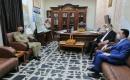 Salihi, Ortak Operasyonlar Komutan Yardımcısı İle Görüştü