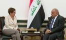 Başbakan Abdülmehdi Almanya Savunma Bakanı Karrenbauer İle Görüştü