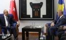 Çavuşoğlu Kosova Başbakanı Haradinaj ile Bir Araya Geldi