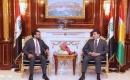 Parlamento Başkanı Halbusi, Neçirvan Barzani İle Görüştü