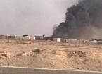 Necef'te Haşdi Şabi Güçlerine Ait Bir Karargaha Hava Saldırısı Düzenlendi