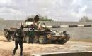Libya ordusu başkent Trablus'un güneyindeki Ayn Zara'da kontrolü sağladı