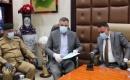 Sağlık ve Çevre Bakanı El Timimi Diyale'yi ziyaret etti