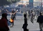 Nasıriye'de Silahlı Kişiler El Habubi Meydanı'nda Göstericilere Saldırdı