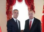 Türkiye Cumhurbaşkanı Erdoğan, NATO Genel Sekreteri Jens Stoltenberg ile görüştü