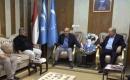 ITC Altunköprü Büro Sorumlusu Zeki Köprülü Emekli Türkmen General Turhan Abdurrahman'ı Kabul Etti