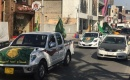 Kerkük'te Fransa'nın İslam karşıtı tutumuna tepki konvoyu