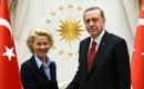Türkiye Cumhurbaşkanı Erdoğan, AB Komisyonu Başkanı von der Leyen ile görüştü