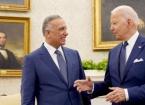 Başbakan Kazımi, ABD Başkanı Biden ile Beyaz Saray'da Bir Araya Geldi