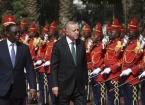 Türkiye Cumhurbaşkanı Erdoğan Senegal'de resmi törenle karşılandı