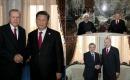 Türkiye Cumhurbaşkanı Erdoğan Tacikistan'da ikili Temaslarda Bulundu