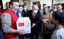 Türk heyetinden Telafer'e çalışma ve yardım ziyareti