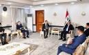 Dışişleri Bakanı Fuad Hüseyin Türkiye'nin Bağdat Büyükelçisi Fatih Yıldız ile Görüştü