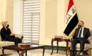 Başbakan Kazımi, BM Irak Özel Temsilcisi  Plasschaert ile Görüştü