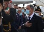 Türkiye Milli Savunma Bakanı Akar Resmi Ziyarette Bulunmak Üzere Bağdat'ta