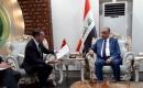Büyükelçi Yıldız ve Irak Tarım Bakanı Hasani Bir Araya Geldi