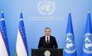 Özbekistan Cumhurbaşkanı Mirziyoyev BM Genel Kurulu'na ilk kez Özbekçe hitap etti