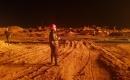 Salahaddin'de füze saldırısı düzenlenen petrol rafinerisinde yangın