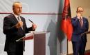 Çavuşoğlu Arnavutluk'ta Mevkidaşı İle Ortak Basın Toplantısı Düzenledi