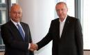 Türkiye Cumhurbaşkanı Erdoğan, BM 76. Genel Kurulu'na Katıldığı New York'ta, Cumhurbaşkanı Salih ile Bir Araya Geldi