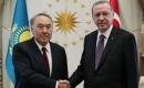 Türkiye Cumhurbaşkanı Erdoğan ile Nazarbayev Görüştü
