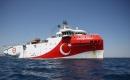 'Oruç Reis Akdeniz'de çalışma yapacağı alana ulaştı'