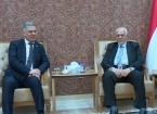 ITC Başkanı Salihi, Türkmen Adalet Partisini Ziyaret Etti