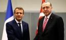 Erdoğan İle Macron Görüştü